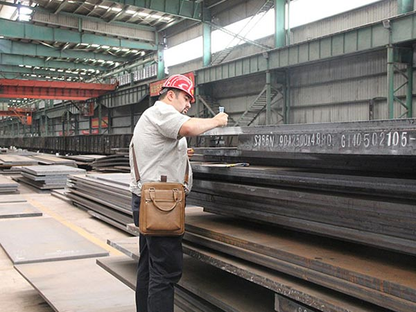 Compared EN 10083-3 27MnCrB5-2 plate steel with S355J2WP steel plate