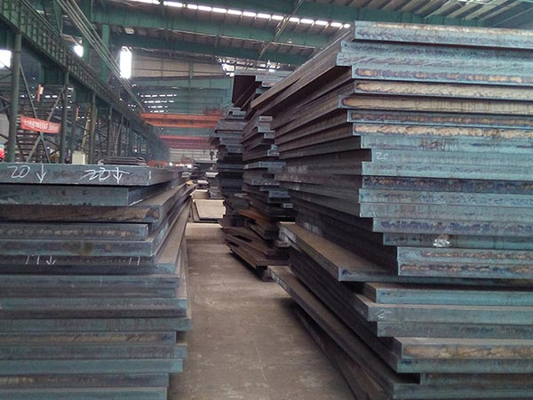 5000 ton EN10083-3 alloy 25CrMo4 cutting steel plate to Bahrain